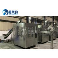 Quality Sport / Energy Drink Round Bottle Carbonated Drink Filling Machine For Small Capacity wholesale