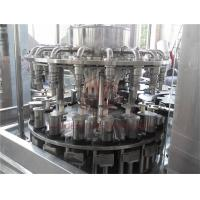 Quality 2000BPH Small Capacity Hot Juice Filling Machine / Energy Drink 3 In 1 Bottle Filling Machine wholesale