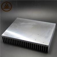 Quality Customized Aluminum Heat Sink , Extruded Aluminum Heatsink Stock wholesale