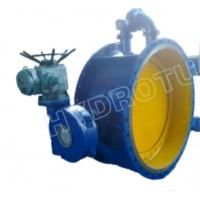 Quality Dia. 50 - 3000 mm Electric / Manual Flanged Butterfly Valve For Hydropower Equipment wholesale