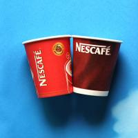 Quality Personalized Corrugated Paper Cups Printing Small 250ml 8oz Paper Coffee Cups for sale