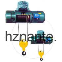 Quality 5 Tons Electric Wire Rope Underhang Hoist CD / MD Lifting Equipment CE Passed wholesale