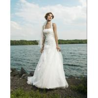 Quality 2012 Newest Design Strapless White Orgenza Bridal Dresses lmo018 wholesale