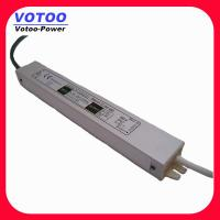 Quality IP67 2A 24W Waterproof Power Supply , 12VDC Power Supply LED Driver Adaptor wholesale