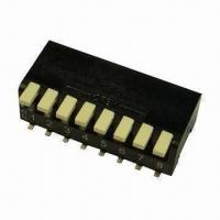 Quality Miniature Piano Switch, Thru-hole Available in Red/Blue, SMD Available in Black wholesale