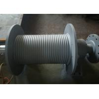 Quality SS355 Material Grooved Winch Drum , Wire Rope Hoist Drum Design Customized wholesale