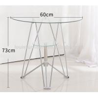 China Thickened Tempered Glass Center Coffee Table Multiple Desktop Design Optional on sale