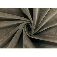 China 240GSM Brown Polyester Fabric Durable Water Repellent 160cm 100 Percent polyester on sale