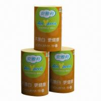 China Toilet paper with food grade, SGS-/FDA-approved, made of non-wood fiber, unbleached, eco-friendly on sale
