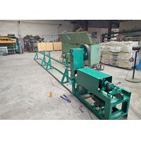 China 4 - 12mm Wire Rod Straightening And Cutting Machine Neat Cutting Mouth Featuring on sale