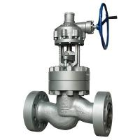 China ASTM A216 WCB 6 Inch Globe Valve Flange Type Class 2500 BS 1873 ASME B16.34 on sale