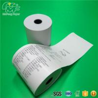 China Waterproof Thermal Printer Paper Roll Adhesive Label Material 100% Wood Pulp on sale