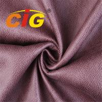 Buy cheap Printed Suede Material 100% Polyester Sofa Upholstery Fabric bonded with brushed fabric from wholesalers