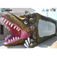 Quality New - style Dinosaur Mobile 5D Cinema Cabin For Amusement Park wholesale