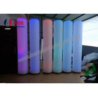 Quality Pillar Inflatable Advertising Blow Up Signs Giant Inflatable Tube Man wholesale