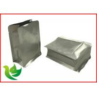 Buy cheap Aluminum Foil Laminated Material Flat Bottom Food Packing Pouch product