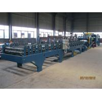 Quality Insulation Sandwich Panel Roll Forming Machine 28KW 3-7m/min wholesale