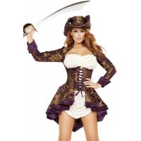 Quality Exotic Marauder Womens Sexy Costumes  Indian Fancy Dress Pirate wholesale