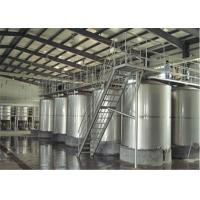 Quality 100L - 8000L Capacity Sanitary Mixing Tanks Stainless Steel Apple Juice Tanks wholesale