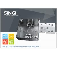 Quality Canadian UL hollow out rust - proofing metal outlet box / electrical wiring boxes wholesale