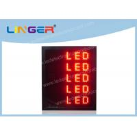Quality P16MM LED Scrolling Message Sign Electronic Scrolling Message Board 4 Lines wholesale