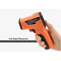 Quality Digital Thermometer Smart Sensor Infrared Thermometer laser with LCD for industrial and domestic use wholesale