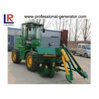 Quality Hydraulic Transmission Sugar Cane Harvester , 4 Wheel Driving Agriculture Farm Machinery wholesale