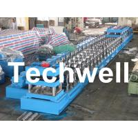 Quality 380V, 3 Phase 50Hz Two Wave Guardrail Roll Forming Machine for Highway Guardrail wholesale