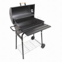 Cheap Barrel Charcoal Grill, Sized 80 x 42 x 104cm for sale