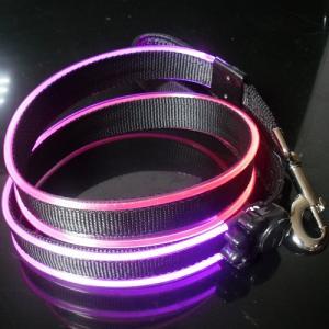 China lighted dog leash on sale