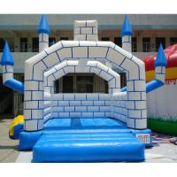 Quality OEM Commercial 0.55mm PVC Inflatable Trampoline Bouncy House / jumping castle for Water Park wholesale