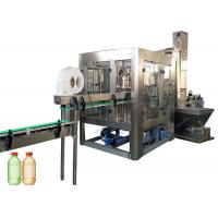China Low Noise Carbonated Soft Drink Filling Machine For PET Plastic Bottle on sale
