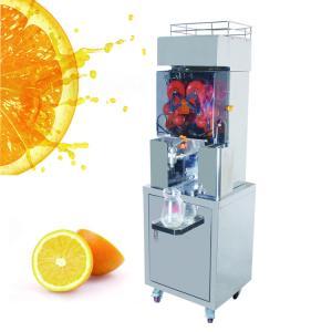 China Pomegranate juice extractor machine , Automatic Orange Juicer XC-2000E-4B on sale