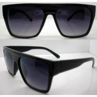 Quality Retro Plastic Frame Sunglasses AC / PC Square Lens For Men wholesale