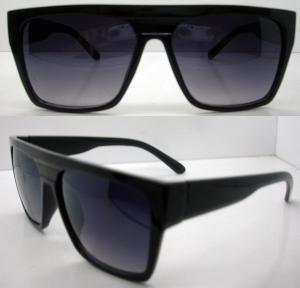 Quality Retro Plastic Frame Sunglasses AC / PC Square Lens For Men wholesale