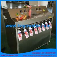 Quality Fruit Flavoured Carbonated Soft Drinks/Soda Pop/mineral water pouch filling packing machine wholesale