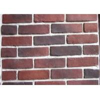 Anti Water Outdoor Fake Brick Wall Covering , Painting Exterior Brick Veneer