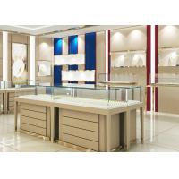 Quality High End Wood Gold Shop Furniture Jewelry Showroom Interior Design wholesale
