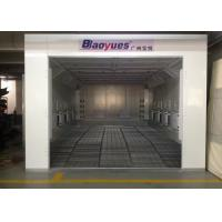 Buy cheap 6.9m Waterborne System Auto Paint Booth Infrared Heating High Efficiency For Garage Usage product