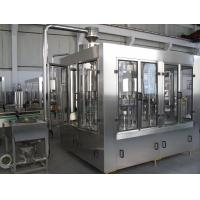 Quality Plastic bottle Washing Filling Capping Machine / Gravity Filling Equipment for Alcohol , Soy wholesale