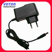 Cheap 110V - 240V AC 5V DC 1.2A Wall Mount Power POS Adapter , LED Strip Power Adapter for sale