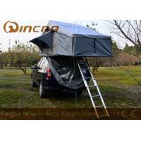 Quality Grey Overland Hard Top Roof Top Tent 5 Sizes For Camping , Roof Box Tent wholesale