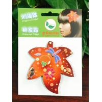 Buy cheap Leather Hair Velcro Pad Sticker Accessories For Long Hair / Short Hair / Thick Hair product