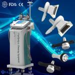 Quality 5 handles fat freezing Cryolipolysis Vacuum cavitation RF machine for lossing fat wholesale