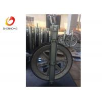 Buy cheap Single Sheave Stringing Conductor Pulley Aluminum Pulley Block with Rubber Linned from wholesalers
