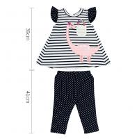 Quality kid girl clothes for baby girl clothes new style fastion baby dress and pant wholesale