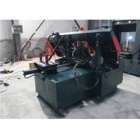 China CNC Metal Cutting Band Sawing Machine , Metal Bandsaw Machine Large Feed Cutting on sale