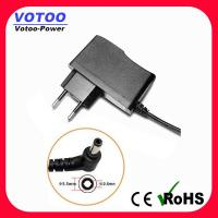 Quality Vertical 12V 0.5A LED Strip Power Supply Short Circuit Protection With Female Cable wholesale