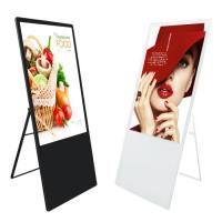 Quality Portable Digital Poster Screen Stand Alone / Android Version Remote Control wholesale