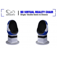 Quality Shopping Mall Electric System Amusement 9D VR Egg Cinema wholesale